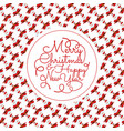 greeting card or invitation concept vector image vector image