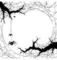 halloween backgrund vector image