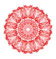 Hand drawn mandala abstract circle ornament vector image vector image