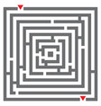 maze labyrinth vector image
