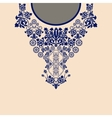 Paisley decorative border vector image vector image