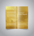 Polygonal style Document template