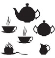 Tea set vector | Price: 1 Credit (USD $1)