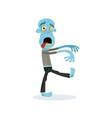 comic walking dead man character vector image