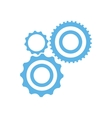 collection gear wheel technology mechanical vector image vector image