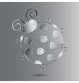 glass Ladybug vector image