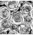 Seamless Floral Rose Wallpaper vector image vector image