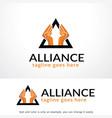 alliance logo template design emblem design