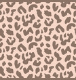 animal leopard seamless pattern vector image