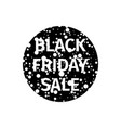 black friday sale banner with white random points vector image