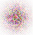 Colorful abstract dot pattern background