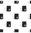 dental floss icon in black style isolated on white vector image vector image
