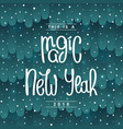 fabulous happy new year design vector image