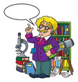 Funny scientist or inventor profesion abc series