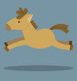 Horses Cartoon vector image