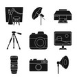 isolated object business and hobbies sign vector image vector image