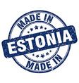 made in Estonia vector image vector image