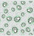 meditating lemur seamless pattern wild animal vector image vector image