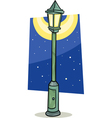 streetlight lantern cartoon vector image vector image