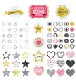 Collection of premium design elements vector image