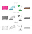 design of dreams and night symbol vector image