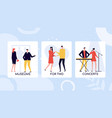 leisure time activities colorful banner vector image