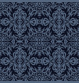 luxury ornamental background purple damask floral vector image vector image