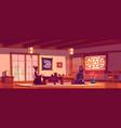 tea ceremony in asian restaurant women in kimono vector image vector image