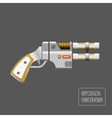 Video game weapon vector image vector image