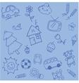 Design doodle art for kids vector image