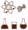 A simple science experiment vector image vector image