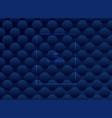 abstract dark blue circles pattern subtle vector image vector image