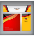 banner of germany vector image vector image