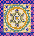 geometric pattern Ornate Bandana vector image
