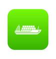 icon digital green vector image vector image