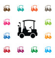 isolated buggy icon game element can be vector image