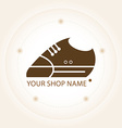 Sneakers label for your shop vector image
