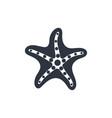 starfish sign vector image