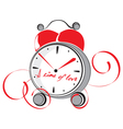 a time love vector image vector image