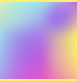 abstract holographic background in pastel neon vector image vector image
