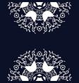 beautiful vintage circular pattern of indian vector image vector image