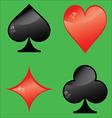 Card symbol vector image