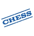 Chess Watermark Stamp vector image vector image