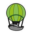 hot air balloon icon image vector image vector image