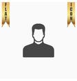 Male avatar profile picture vector image vector image