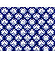 porcelain pattern seamless vector image