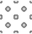 smart chip pattern seamless vector image vector image