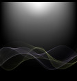 abstract dark technology background with a bright vector image