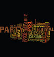 are you a formal or casual host text background vector image vector image