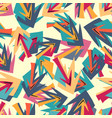 bright seamless pattern in graffiti style for vector image